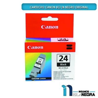 CARTUCHO CANON 24 NEGRO ORIGINAL