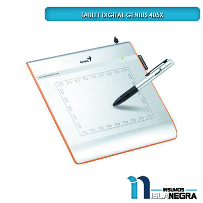 TABLET DIGITALIZADORA GENIUS 405X