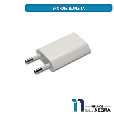 ENCHUFE SIMPLE 1A