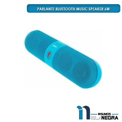 PARLANTE BLUETOOTH MUSIC SPEAKER 6W