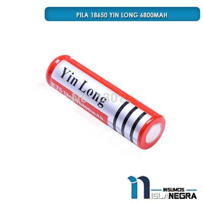 PILA 18650 YIN LONG 6800mAh