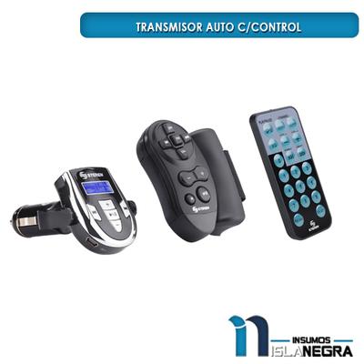 TRANSMISOR AUTO C/CONTROL