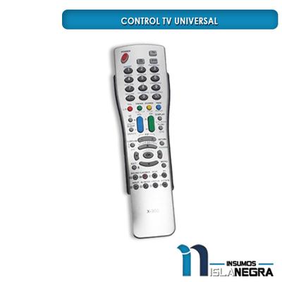 CONTROL TV UNIVERSAL