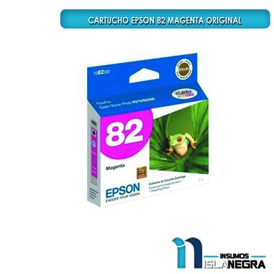 CARTUCHO EPSON 82 MAGENTA ORIGINAL
