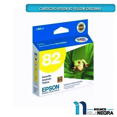 CARTUCHO EPSON 82 YELLOW ORIGINAL