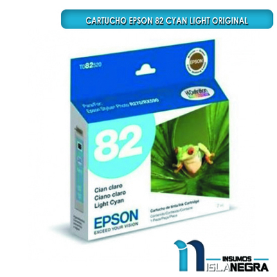 CARTUCHO EPSON 82 CYAN LIGHT ORIGINAL