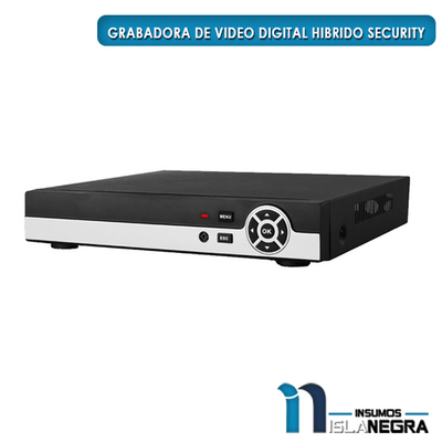 GRABADORA DE VIDEO DIGITAL HIBRIDO SECURITY