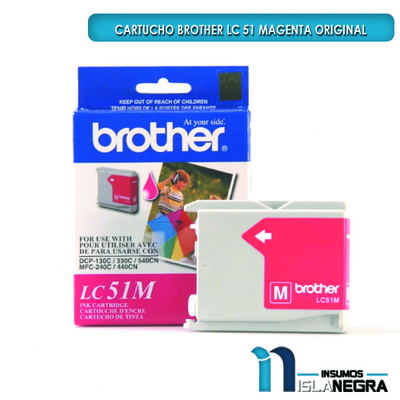 CARTUCHO BROTHER 51 MAGENTA ORIGINAL