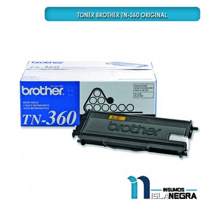 TONER BROTHER 360 NEGRO ORIGINAL