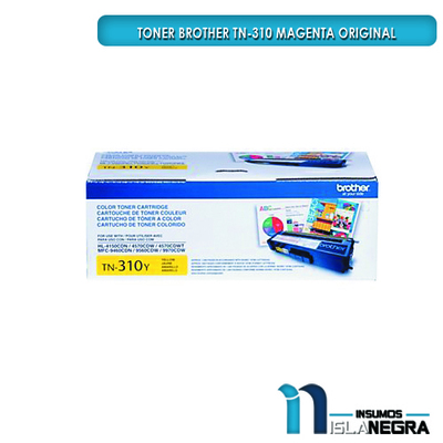 TONER BROTHER 310 YELLOW ORIGINAL