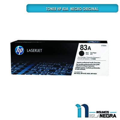 TONER HP 83A  NEGRO ORIGINAL