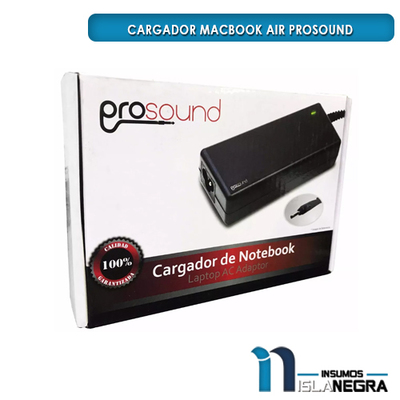 CARGADOR MACBOOK AIR PROSOUND