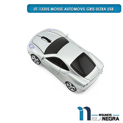 MOUSE ALAMBRICO AUTOMOVIL ULTRA USB UT-133US