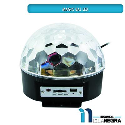 BOLA LED CON MP3
