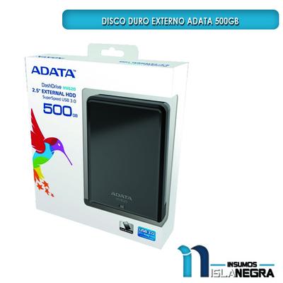 DISCO DURO ADATA 500GB USB 3.0