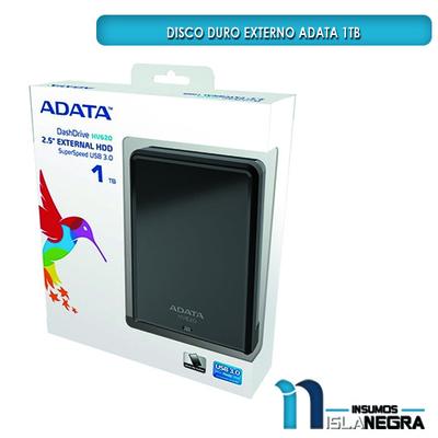 DISCO DURO EXTERNO ADATA USB 3.0 1TB
