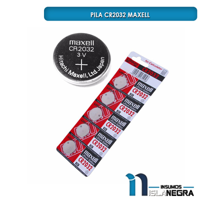 PILA CR2032 MAXELL