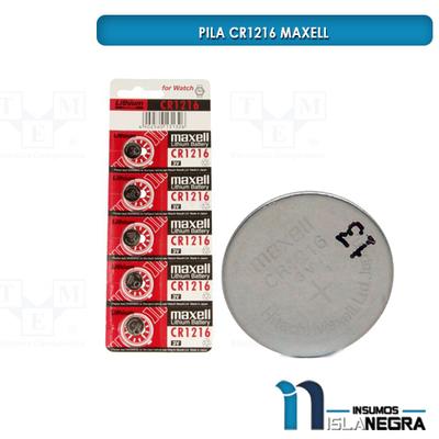 PILA CR1216 MAXELL