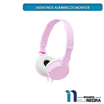 AUDIFONOS ALAMBRICOS MONITOR