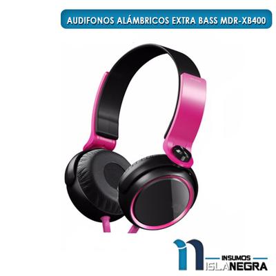 AUDIFONOS ALAMBRICOS EXTRA BASS MDR-XB400