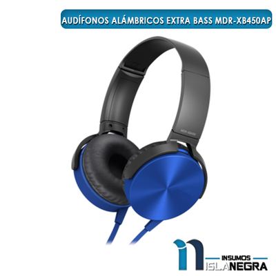 AUDIFONOS ALAMBRICOS EXTRA BASS MDR-XB450AP