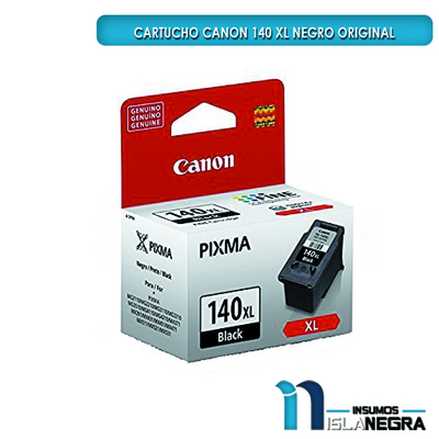 CARTUCHO CANON 140 XL NEGRO ORIGINAL