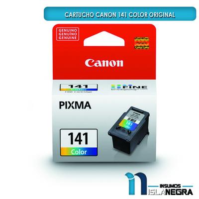 CARTUCHO CANON 141 COLOR ORIGINAL