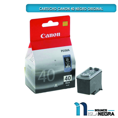 CARTUCHO CANON 40 NEGRO ORIGINAL