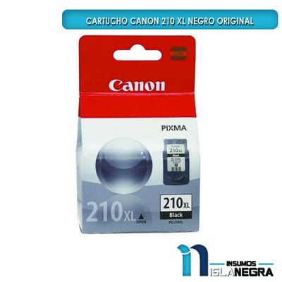 CARTUCHO CANON 210 XL NEGRO ORIGINAL