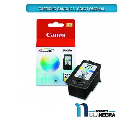 CARTUCHO CANON 211 COLOR ORIGINAL