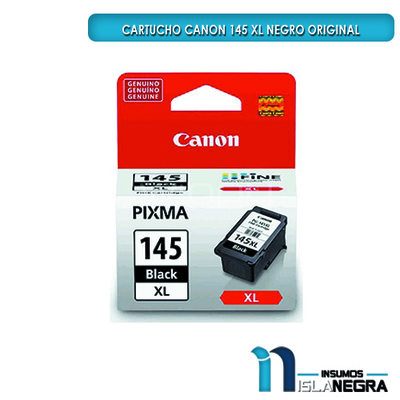 CARTUCHO CANON 145 XL NEGRO ORIGINAL