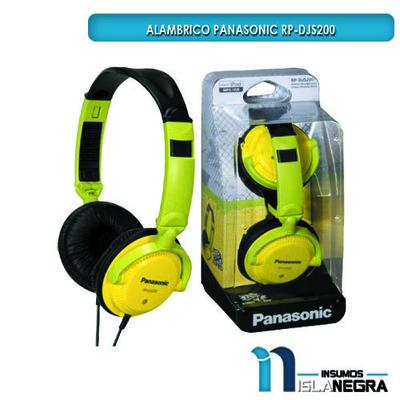 AUDIFONOS ALAMBRICOS PANASONIC RP-DJS200