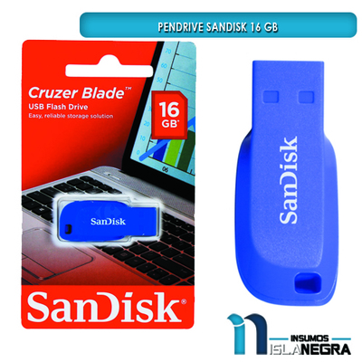 PENDRIVE SANDISK 16 GB