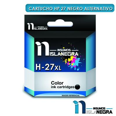 CARTUCHO HP 27 NEGRO ALTERNATIVO