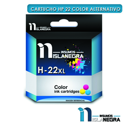 CARTUCHO HP 22 COLOR ALTERNATIVO