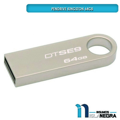 PENDRIVE KINGSTON 64GB DTSE9