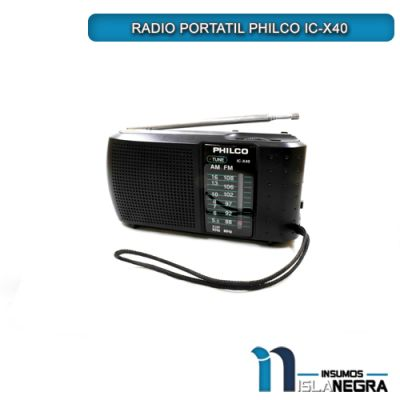 RADIO PORTATIL PHILCO IC-X40