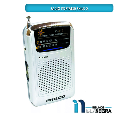 RADIO PORTABLE PHILCO IC-X15