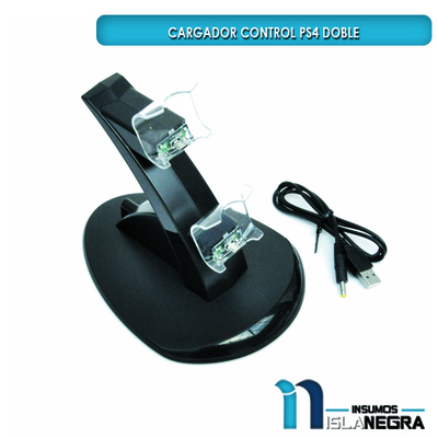 BASE CARGADOR CONTROL PS4 DOBLE