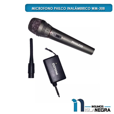 MICROFONO ALAMBRICO/INALAMBRICO PHILCO WM-308