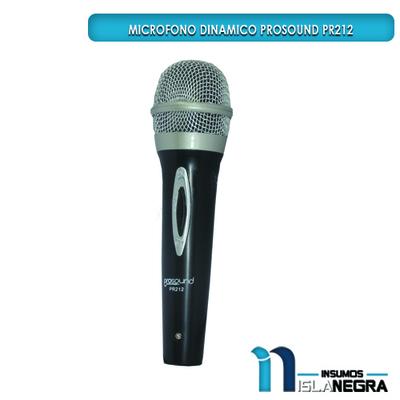 MICROFONO ALAMBRICO PROSOUND PR212