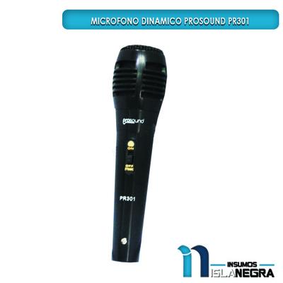 MICROFONO ALAMBRICO PROSOUND PR301