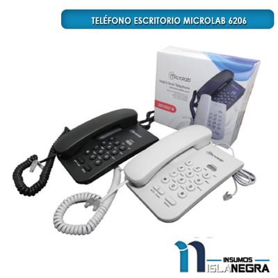 TELEFONO ESCRITORIO MICROLAB 6206