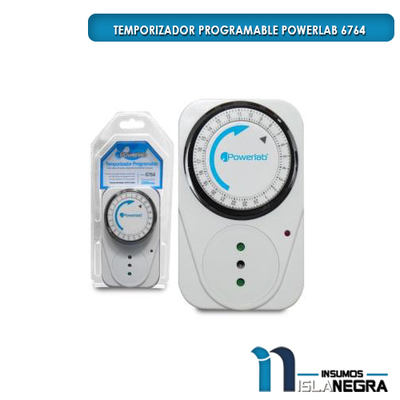 TEMPORIZADOR PROGRAMABLE POWERLAB