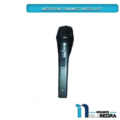MICROFONO ALAMBRICO NUTECH 6971