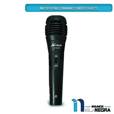 MICROFONO ALAMBRICO NUTECH 6972