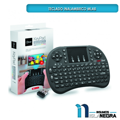 MINI TECLADO INALAMBRICO TOUCHPAD MLAB