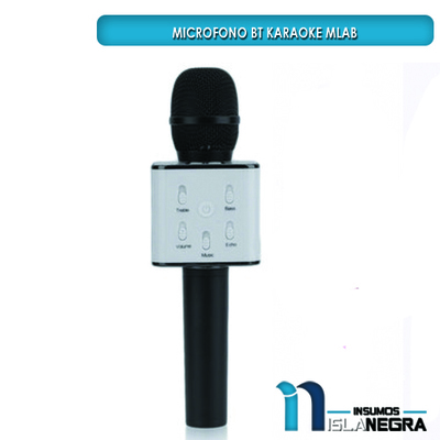MICROFONO BLUETOOTH PARLANTE KARAOKE MLAB 7701
