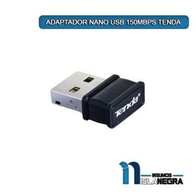 ADAPTADOR NANO USB 150MBPS TENDA