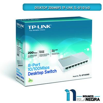 DESKTOP 200Mbps TP-LINK TL-SF1016D